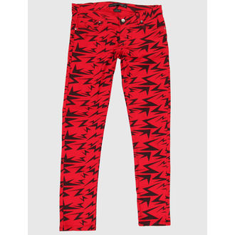 pants women CRIMINAL DAMAGE - Red - CRD62