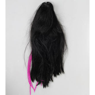 hairpiece - Black / Purple