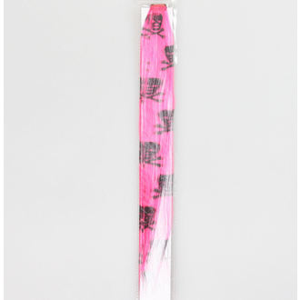 clip (hairpiece) Black Skull - Pink - NS141