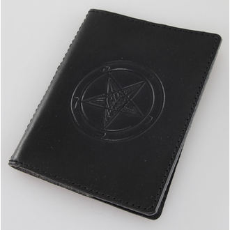 case to documents Baphomet, JM LEATHER