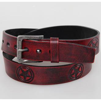 belt PENTAGRAM - Red - JM 002