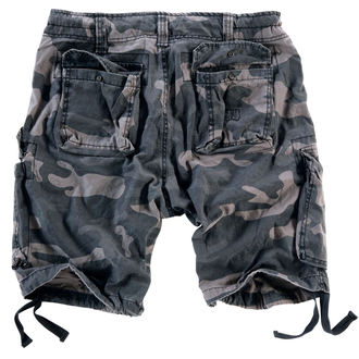 shorts men SURPLUS - Airborne vintage - Black Come, SURPLUS