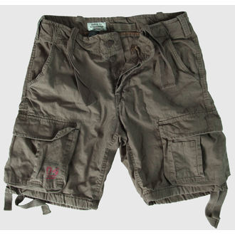 shorts men SURPLUS - Airborne Vintage - Olive Gewas, SURPLUS