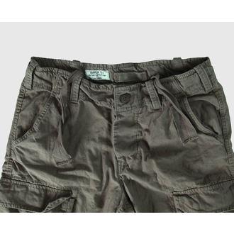 shorts men SURPLUS - Airborne Vintage - Olive Gewas