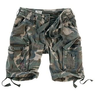 shorts men SURPLUS - Airborne Vintage - Woodland Gewas - 07-3598-62