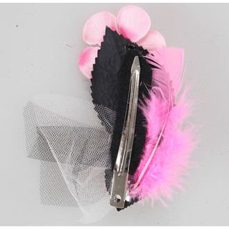 hairclip Pink Skeleton