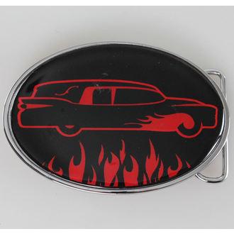 buckle SOURPUSS - Car - Black / Red, SOURPUSS