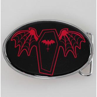 buckle SOURPUSS - Coffin - Black / Red, SOURPUSS