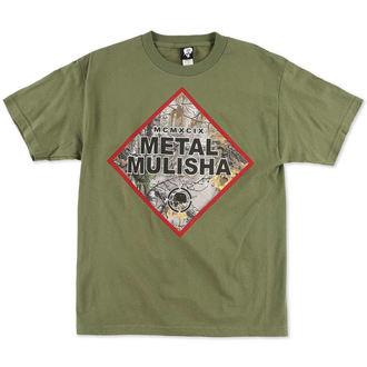 t-shirt street men's - Construct - METAL MULISHA, METAL MULISHA