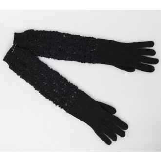 gloves QUEEN OF DARKNESS - Black, QUEEN OF DARKNESS