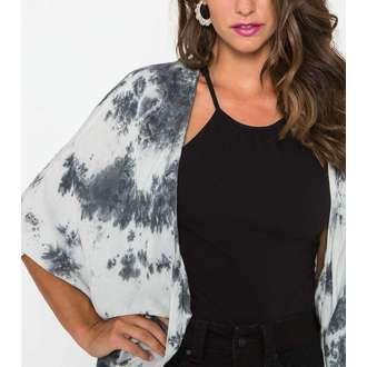 shirt women's METAL MULISHA - Not Enough Kimono - BLK