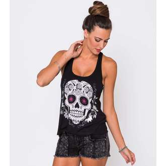 top women METAL MULISHA - Sugary Skull, METAL MULISHA