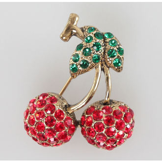 brooch Cherries