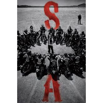 poster Sons Of Anarchy - Circle - PYRAMID POSTERS, PYRAMID POSTERS