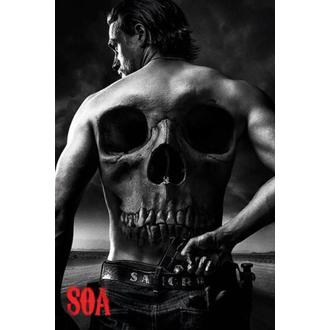 poster Sons Of Anarchy - Skull - PYRAMID POSTERS, PYRAMID POSTERS