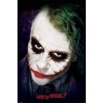 poster Batman - The Dark Night - Joker Face - PYRAMID POSTERS, PYRAMID POSTERS