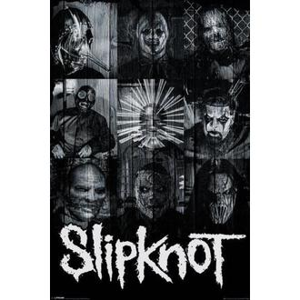 poster Slipknot - Masks - PYRAMID POSTERS - PP33532