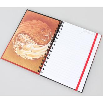 writing notepad Metallica - Yin And Yang - PYRAMID POSTERS, PYRAMID POSTERS, Metallica