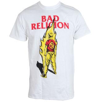 t-shirt metal men's Bad Religion - Flame - LIVE NATION, LIVE NATION, Bad Religion