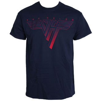 t-shirt metal men's Van Halen - Classic Logo - LIVE NATION, LIVE NATION, Van Halen