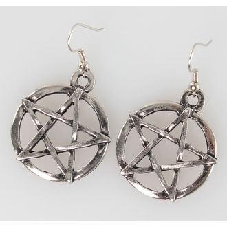 earrings PENTAGRAM - PSY102