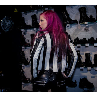 leather jacket women's - Beetlejuice - KILLSTAR, KILLSTAR