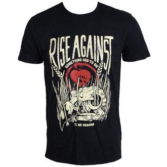 t-shirt metal men's Rise Against - Vulture - LIVE NATION, LIVE NATION, Rise Against
