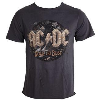 t-shirt metal AC-DC - Rock Or Bust Tour - AMPLIFIED - AV210RKT