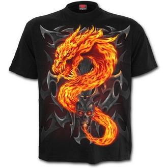 t-shirt men's - Fire Dragon - SPIRAL - T112M101