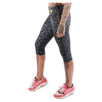 pants women 3/4 (leggings) IRON FIST - Seeing Spots - Black - IF103228