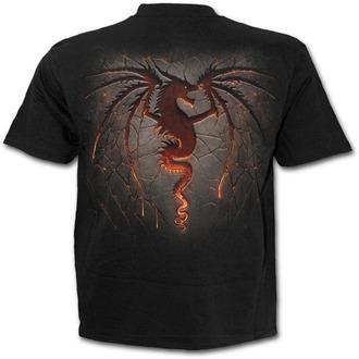 t-shirt men's - Dragon Furnace - SPIRAL - L016M101