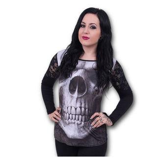 t-shirt women's - Solemn Skull - SPIRAL - S012F449