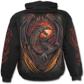 hoodie men's - Dragon Furnace - SPIRAL - L016M451