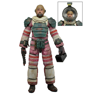 figurine ALIEN - DALLAS - Compression Suit, NECA, Alien - Vetřelec