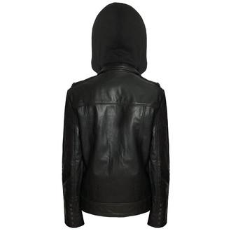 jacket men (leather jacket) KILLSTAR - Moody - Vegan - Black