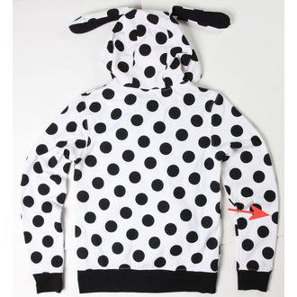 hoodie women's Rabbit - White / Black - DAMAGED, NNM