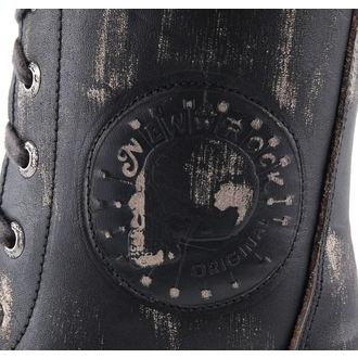 leather boots men's - NEW ROCK - M.MR001-C4