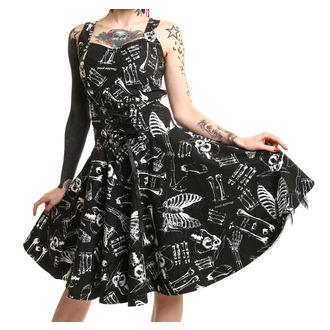 dress women POIZEN INDUSTRIES - Anatomy - Black / White