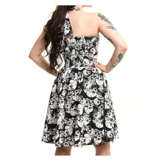 dress women ROCKABELLA - Josefine - Skull Flower