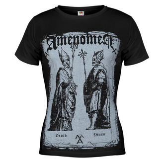 t-shirt hardcore women's - Two Popes - AMENOMEN - DOMEN017