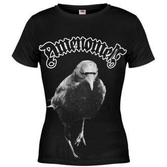 t-shirt hardcore women's - Raven - AMENOMEN - DOMEN002