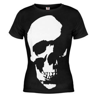 t-shirt hardcore women's - Skull - AMENOMEN - OMEN035DA