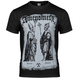 t-shirt hardcore men's - Two Popes - AMENOMEN - OMEN017KM