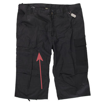 3/4 pants men ROTHCO - Capri - BLACK - DAMAGED, ROTHCO