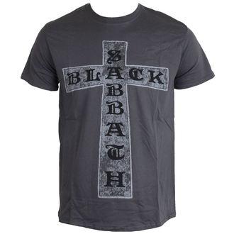 t-shirt metal men's Black Sabbath - Cross - ROCK OFF - BSTS13MC