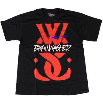 t-shirt men While She Sleeps - Logo - ROCK OFF - DAMAGED, ROCK OFF, While She Sleeps