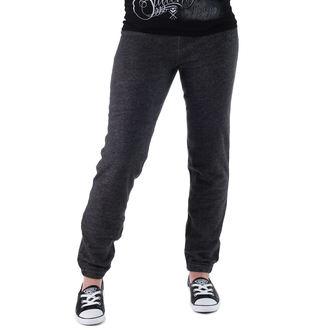 pants women (trackpants) CONVERSE - Awk GF Core Plus Slim - GREY / BLK - 11903C-003