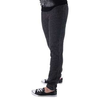 pants women (trackpants) CONVERSE - Awk GF Core Plus Slim - GREY / BLK - 11903C-003