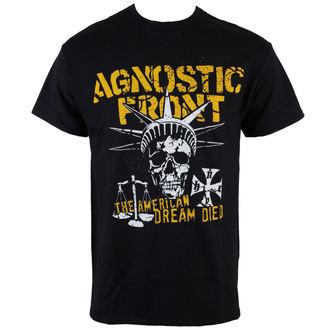 t-shirt metal men's Agnostic Front - Liberty Skull - RAGEWEAR, RAGEWEAR, Agnostic Front