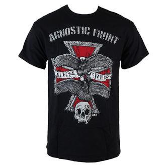 t-shirt metal men's Agnostic Front - Les Crew - RAGEWEAR, RAGEWEAR, Agnostic Front